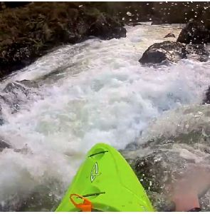 Go Pro shot in the heart of the Aberglaslyn Gorge