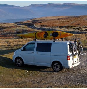 The Dub in the Brecon Beacons last week, parked in the spot where I wild camped