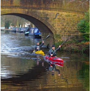 A rare opportunity to train together on Basingstoke Canal